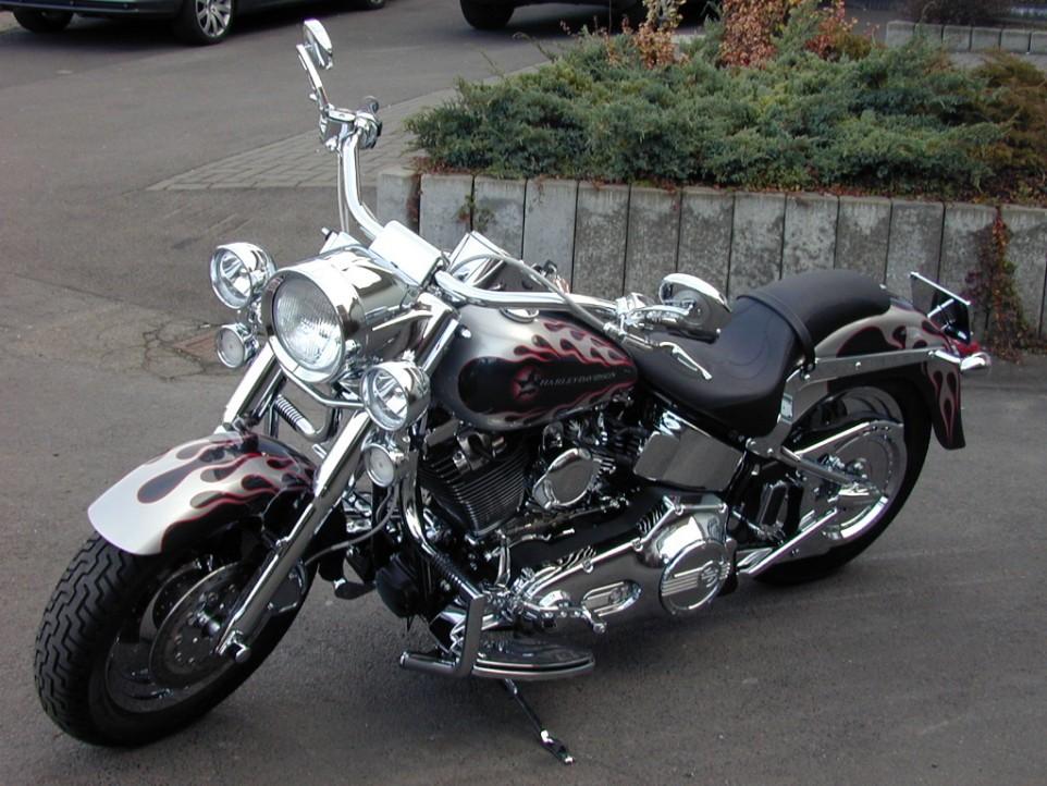 Harley Davidson Brakeout Black