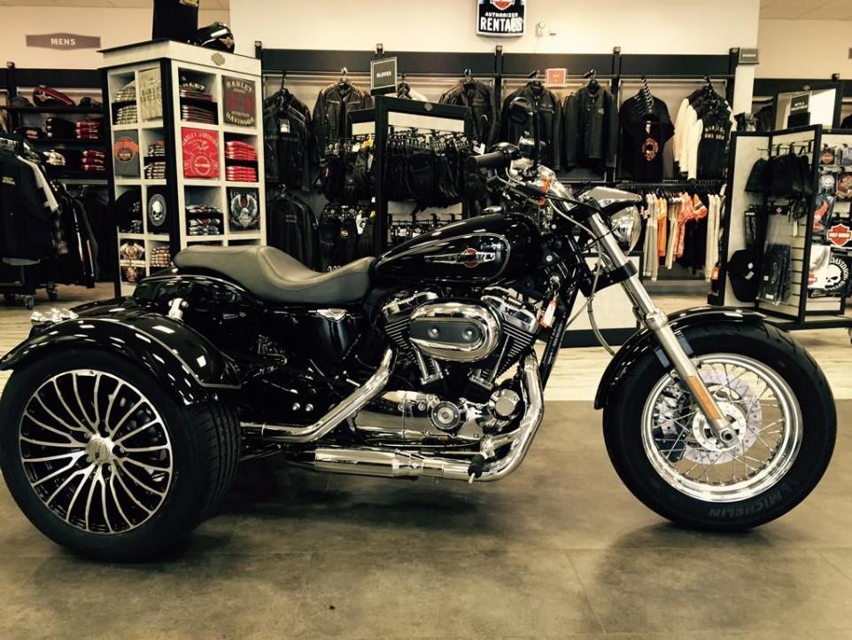 Harley Davidson Koblenz - Sportster Trike Umbau