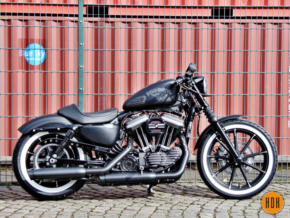 Harley Davidson  Iron Sitzbank